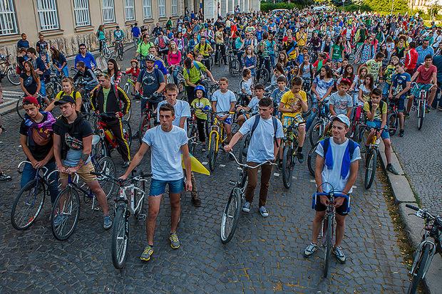Велопробіг на День міста